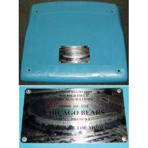 Soldier Field Light Blue Seat Bottom Chicago Bears  Sports
