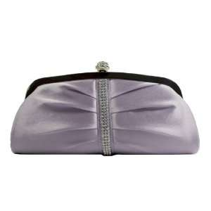 Lavender Sophisticated Evening Purse   Clutch with High