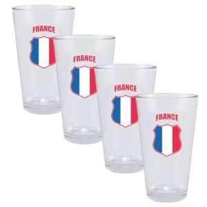 2010 FIFA World Cup? France Collector Glass Set  Kitchen