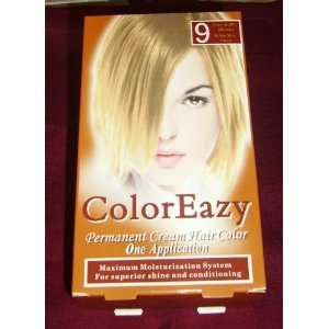 Color Eazy Permanen Cream Hair Color   Very Ligh Blonde
