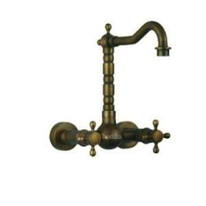 New European Style Vintage Wall Mount Kitchen&Bathroom Faucet with
