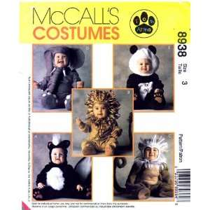 McCall Sewing Pattern 8938   Use to Make   Toddlers Costumes