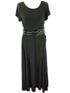 Lennie for Nina Leonard Belted Dress Clothing