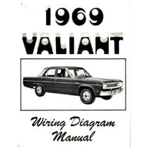 1969 PLYMOUTH VALIANT Wiring Diagrams Schematics: Automotive
