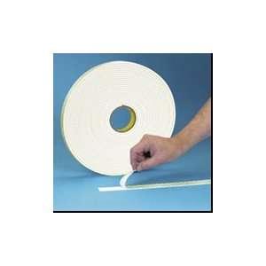 T9534008 1/2 x 36 yds. 3M   4008 Double Sided Foam Tape (18 Per Case