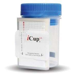 1107 141 iCUP10 Panel Instant Drug Test Cup