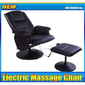 Recliner Electric Heat Leather TV Massage Chair with