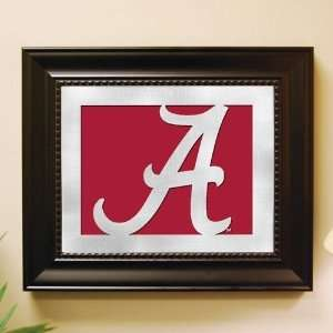 Alabama Crimson Tide Framed Laser Cut Logo Wall Art