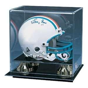 Saint Louis Rams NFL Deluxe Mini Football Helmet Display Case