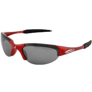 NCAA Alabama Crimson Tide Crimson Half Frame Sport Sunglasses