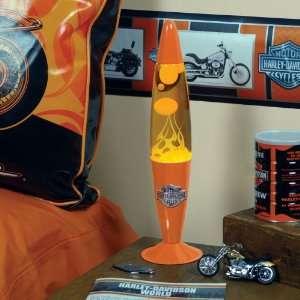 16 Harley Davidson Orange Motion Lava Lamp #HD HDO 239