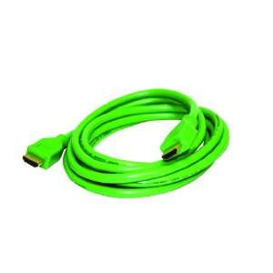 Speed HDMI Audio/Video Gaming Cable 1080p (9 feet, Green) Electronics