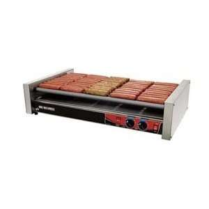 Hot Dog Grill, Super Turn Rollers, 50 Dog Capacity, 35 3/4W Pet