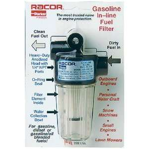 SPIN ON FUEL FILTER WATER SEPARATOR GAS