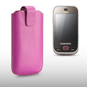 SAMSUNG B5722 PINK PU LEATHER CASE BY CELLAPOD CASES Cell