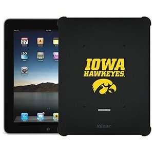 Iowa Hawkeyes on iPad 1st Generation XGear Blackout Case