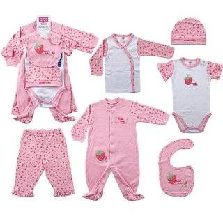 Hudson Baby 6 Piece Sweet Baby Layette Set