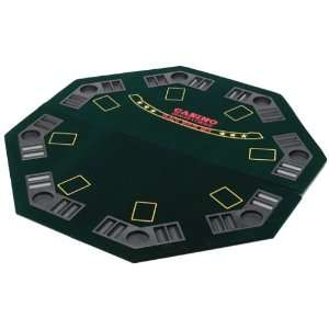Deluxe Poker 4 Fold Table Top Toys & Games