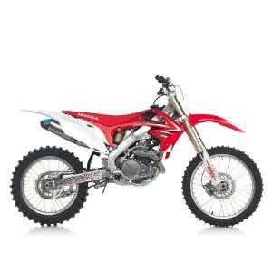 Leo Vince Motocross / SM SS Slip On Exhaust System Honda CRF 450 R 09