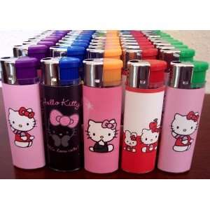 5 Hello Kitty Refillable Lighters