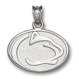State University Sterling Silver Lion Head Charm