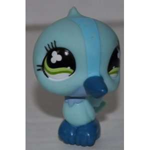 Hummingbird #846 (Blue, Green Eyes) Littlest Pet Shop