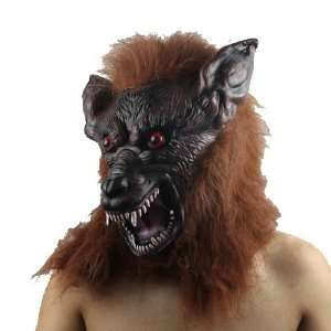 Brown High grade Latex Gnoll Mask for Halloween Party