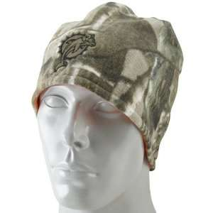 Reebok Miami Dolphins Realtree Reversible Knit Hat One