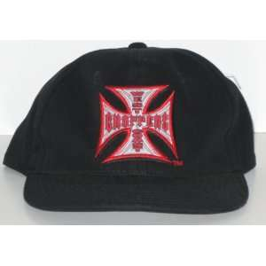 West Coast Choppers Jesse James Black Adjustable Hat