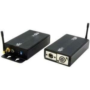 DMX DFI WIRELESS DMXTM TRANSMITTER/RECEIVER MP3 Players & Accessories