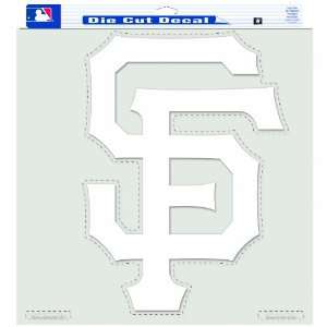 MLB San Francisco Giants 18 By 18 Inch Diecut Decal
