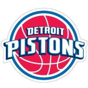 Detroit Pistons NBA Team Logo 6 Car Magnet  Sports