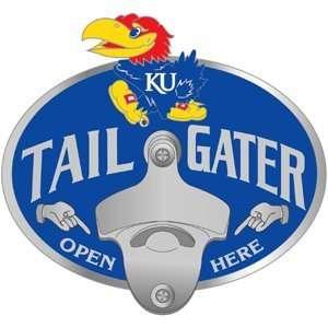 Kansas Jayhawks Trailer Hitch Cover   Tailgater Sports