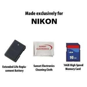 Life Replacement Battery Pack for Nikon EN EL14 1500mAh For Nikon