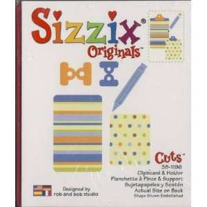 Sizzix Originals CLIPBOARD Die RED RETIRED Arts, Crafts
