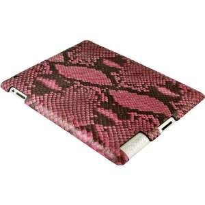 100% Genuine Python Snake Leather iPad 2 Case   Pink  Home