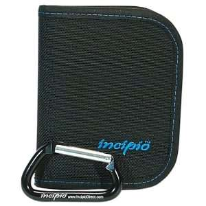 Incipio PDA Zip Case (Ballistic Black Nylon with Blue