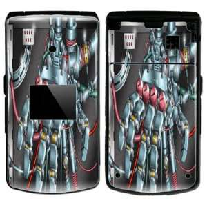 Robotic Hand Design Decal Protective Skin Sticker for LG