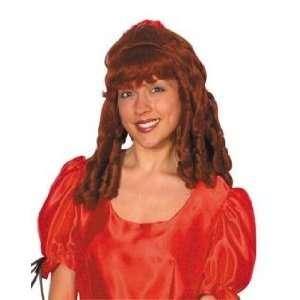 Pams Female Wigs Short  Medium  Ringlet Wig Auburn Toys & Games