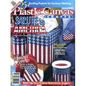 Plastic Canvas Crafts (August 1995 Volume 3 Number 4