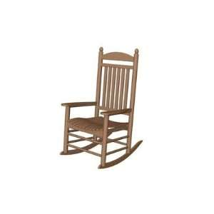 J147, Recycled Plastic Outdoor Rocker Chair Patio, Lawn & Garden