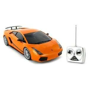 Superleggera Radio Remote Control Car RC RTR Orange Toys & Games