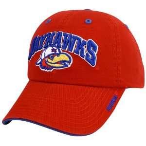 Kansas Jayhawks Red Frat Boy Hat