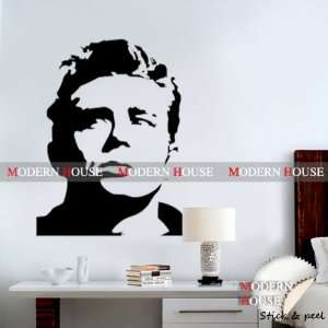 James Dean Giant Portrait removable Vinyl Mural Art Wall Sticker Decal
