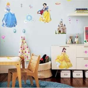 Castle removable Vinyl Mural Art Wall Sticker Decal