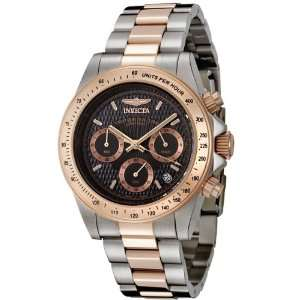 18k Rose Gold Plated and Stainless Steel Watch Invicta Watches