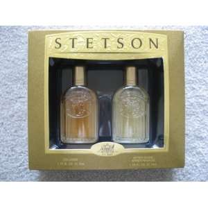 Stetson Gift set   1.75 fl oz Cologne   1.75 fl oz After Shave Apres