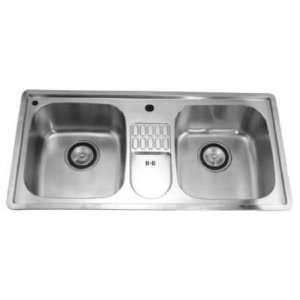 Dawn Sinks Combination Drop In Series Stainless Steel Top
