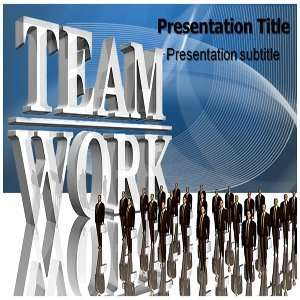 Powerpoint Templates   Team Work Powerpoint (PPT) Backgrounds Slides