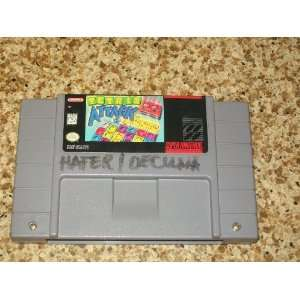 SUPER NINTENDO TETRIS ATTACK VIDEO GAME